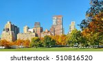 manhattan midtown skyline... | Shutterstock . vector #510816520