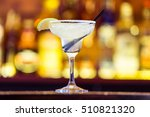 margarita cocktail in a glass... | Shutterstock . vector #510821320