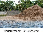 Construction Site With Shovels...