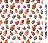 seamless pattern with... | Shutterstock . vector #510830080