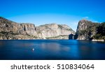 wapama falls at hetch hetchy... | Shutterstock . vector #510834064