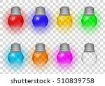 decorative transparent light...   Shutterstock .eps vector #510839758