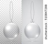 christmas ball. vector... | Shutterstock .eps vector #510847288