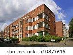 berlin  siedlung schillerpark ...   Shutterstock . vector #510879619