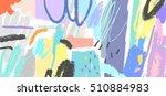abstract creative header....   Shutterstock .eps vector #510884983