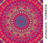 tribal mandala design set.... | Shutterstock .eps vector #510888358
