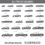 all types of car bodies objects ... | Shutterstock .eps vector #510898333