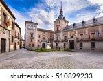 view of madrid old plaza de la... | Shutterstock . vector #510899233
