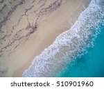 top view of a drone at the ... | Shutterstock . vector #510901960