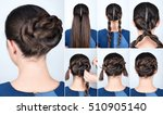 tutorial photo of simple... | Shutterstock . vector #510905140