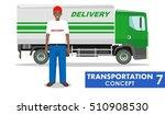 transportation. detailed... | Shutterstock .eps vector #510908530