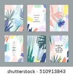 set of creative universal... | Shutterstock .eps vector #510913843