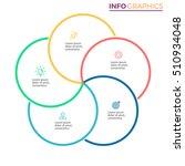business infographics. outline... | Shutterstock .eps vector #510934048