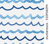 seamless wavy background | Shutterstock .eps vector #510936094