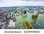 dusseldorf  media harbour with... | Shutterstock . vector #510944800