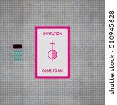modern design card template... | Shutterstock .eps vector #510945628