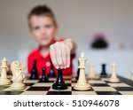 young white child playing a... | Shutterstock . vector #510946078