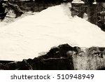 old grunge ripped torn vintage... | Shutterstock . vector #510948949