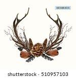 Beautiful Vector Set Of Horns...