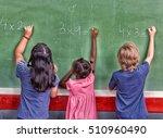 multi ethnic primary school...   Shutterstock . vector #510960490
