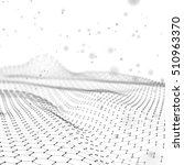 abstract  futuristic 3d render...   Shutterstock . vector #510963370