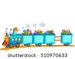 education themed border... | Shutterstock .eps vector #510970633