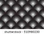 vector hand made dotwork... | Shutterstock .eps vector #510980230