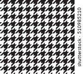 seamless houndstooth pattern.... | Shutterstock .eps vector #510985210