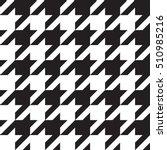 seamless houndstooth pattern....   Shutterstock .eps vector #510985216