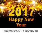 new year decoration.holidays... | Shutterstock . vector #510990940