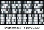 set of metal gradients in... | Shutterstock . vector #510992230