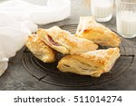 Puff Pastry With Cherry Fillin...