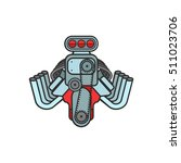 Engine Car Hot Rod Muscle Car...