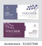 gift voucher template for spa ... | Shutterstock .eps vector #511027348