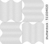 modern design lines pattern.... | Shutterstock .eps vector #511034020