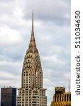 Chrysler Building . New York...