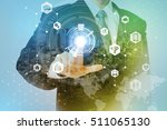 smart city and internet of... | Shutterstock . vector #511065130