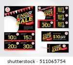sale flyer  promotions coupon... | Shutterstock .eps vector #511065754