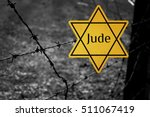 jude star concentration camp... | Shutterstock . vector #511067419