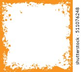 original grunge square vector... | Shutterstock .eps vector #511076248
