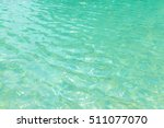 swimming pool blue water with a ... | Shutterstock . vector #511077070