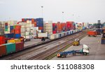 freight train with cargo...   Shutterstock . vector #511088308