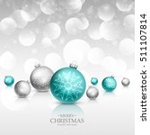 christmas celebration greeting... | Shutterstock .eps vector #511107814