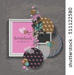 framework for invitation or... | Shutterstock .eps vector #511122580