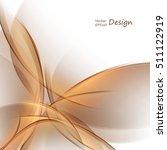 bright vector background. wavy... | Shutterstock .eps vector #511122919