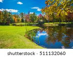very nice park. golf club on... | Shutterstock . vector #511132060