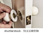 Install Door Latch With A...
