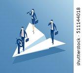 isometric business people...   Shutterstock .eps vector #511144018