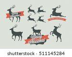 Vector Christmas Deer...