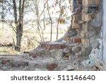abandoned building. ruins of... | Shutterstock . vector #511146640